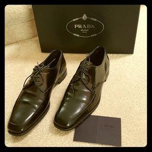 PRADA mens dress shoes
